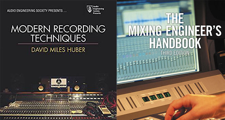 Books on Music Production and Audio Engineering